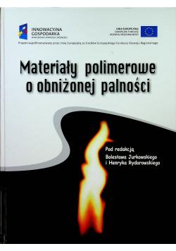Materiały polimerowe o obniżonej palności