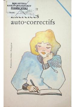 Exercices auto - correctifs