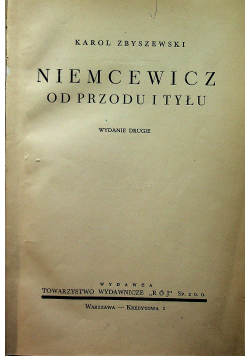 Niemcewicz od przodu i tyłu 1939 r.