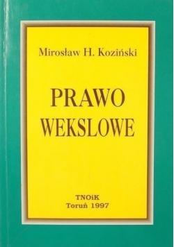Prawo wekslowe