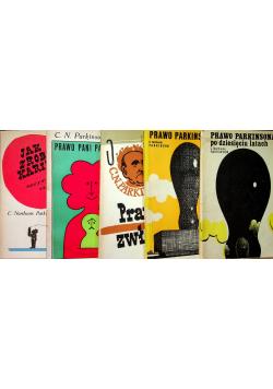 Parkinson 5 książek