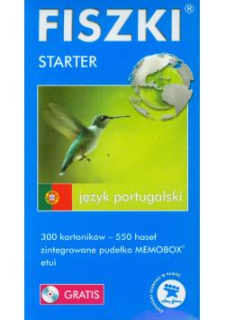 Fiszki Język portugalski Stater + CD