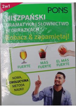 Hiszpański Gramatyka i słownictwo hiszpańskie w obrazkach