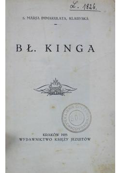 Bł Kinga 1925 r.