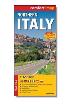 Comfort!map północne Włochy 1:650 000 mapa