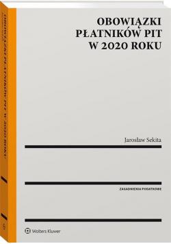 Obowiązki płatników PIT w 2020 roku