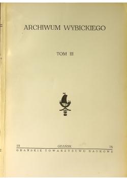 Archiwum Wybickiego Tom II
