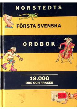 Norstedts forsta svenska ordbok