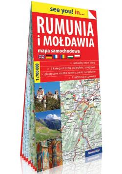 See you! in... Rumunia i Mołdawia mapa w.2019