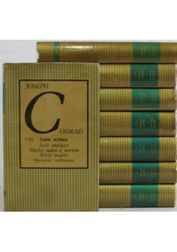 Dzieła wybrane Conrad 8 tomów