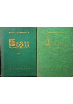 Trzy okresy życia wewnętrznego Tom I i II