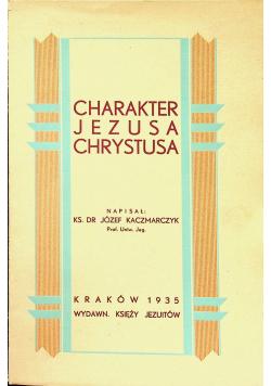 Charakter Jezusa Chrystusa 1935 r.