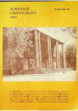 Almanach Częstochowy 1989