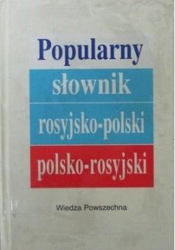 Popularny słownik rosyjsko-polski, polsko-rosyjski. Tom 2