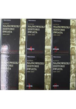 Słownik najnowszej historii świata 1900 - 2007 6 tomów