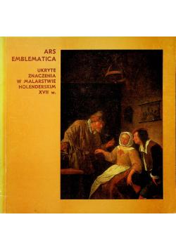 Ars Emblematica ukryte znaczenia w malarstwie Holenderskim XVII w