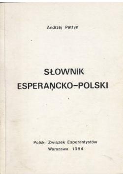 Słownik esperancko polski