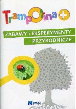 Trampolina plus Zabawy i eksperymenty przyrodnicze PWN