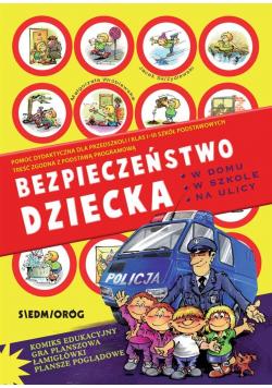 Bezpieczeństwo dziecka w domu, w szkole, na ulicy