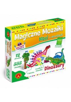 Magiczne mozaiki - Dinozaury 555 ALEX