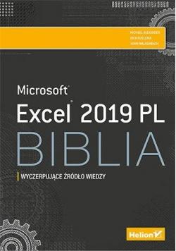 Excel 2019 PL. Biblia