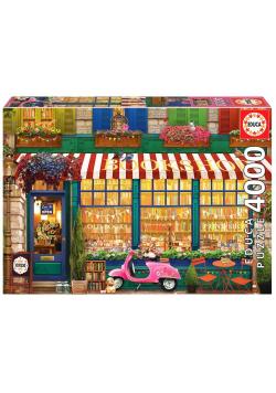 Puzzle 4000 Księgarnia w stylu retro G3