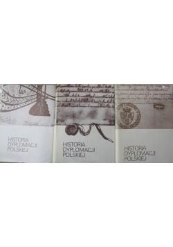 Historia dyplomacji polskiej  tomy od I do III