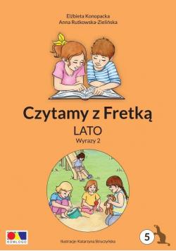 Czytamy z Fretką cz.5 Lato. Wyrazy 2