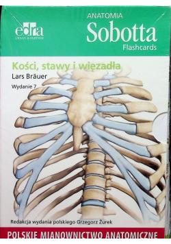 Anatomia Sobotta Flashcards Kości stawy i więzadła NOWA