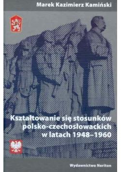 Kształtowanie się stosunków polsko-czechosłow.