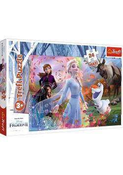 Puzzle 24 maxi W poszukiwaniu przygód Frozen 2