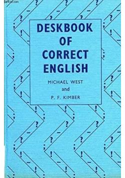Deskbook of Correct English