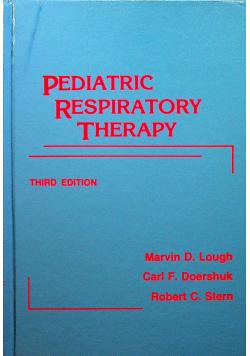 Pediatric respiratory therapy