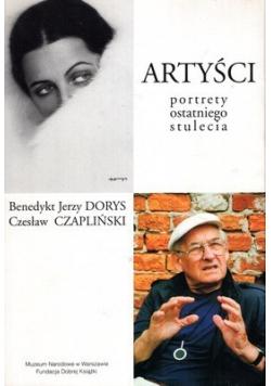 Artyści portrety ostatniego stulecia plus autograf Czaplińskiego