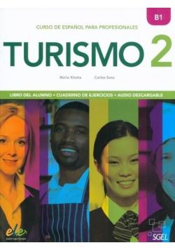 Turismo 2 B1 podręcznik + ćwiczenia + online