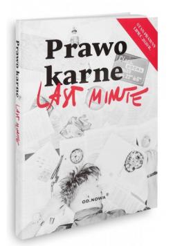 Last Minute. Prawo karne 07.2020