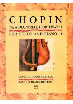 Słynne transkrypcje na wiolonczelę i fortepian 1