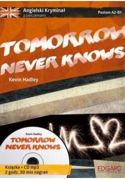 Angielski Kryminał z ćwiczeniami Tomorrow never knows NOWA