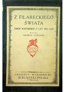 Z filareckiego świata Zbiór wspomnień 1924 r.