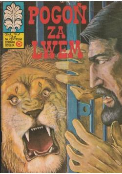 Pogoń za lwem nr 25 wydanie I