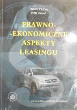 Prawno ekonomiczne aspekty leasingu