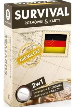 SURVIVAL karty  Język niemiecki Nowe