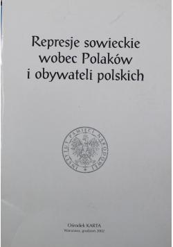 Represje sowieckie wobec Polaków i obywateli polskich
