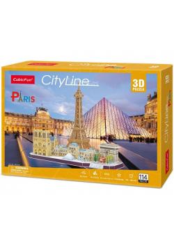 Puzzle 3D Cityline Paris