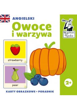 Angielski. Karty obrazkowe Owoce i warzywa