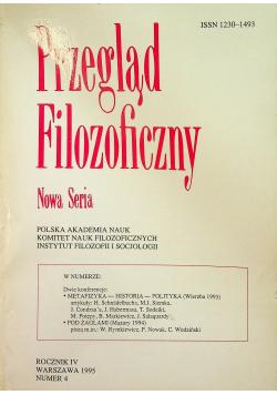 Przegląd Filozoficzny Nowa seria Rocznik IV Numer 4