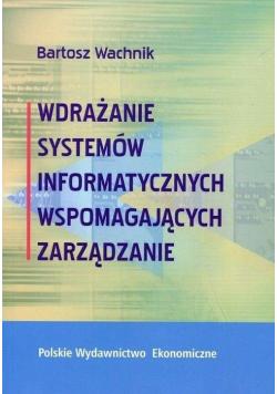 Wdrażanie systemów informatycznych wspomagaj