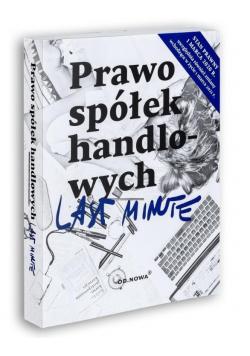 Last Minute. Prawo spółek handlowych 01.03.2020