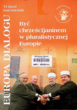 Być chrześcijaninem w pluralistycznej  Europie plus CD