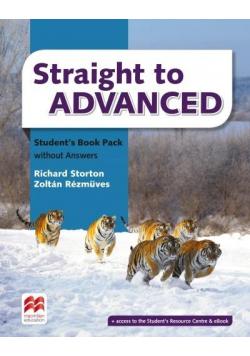 Straight to Advanced SB + online MACMILLAN